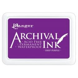 Tusz wodoodporny Archival, kolor Deep Purple - purpurowy