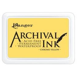 Tusz wodoodporny Archival, kolor Chrome Yellow - żółty
