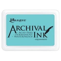 Tusz wodoodporny Archival, kolor Aquamarine - akwamaryn