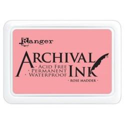 Tusz, Archival Inkpad, Rose...