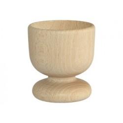 Drewniany kieliszek do jajka - baza do ozdabiania