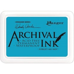Tusz wodoodporny Archival, kolor Forget Me Not - niebieski