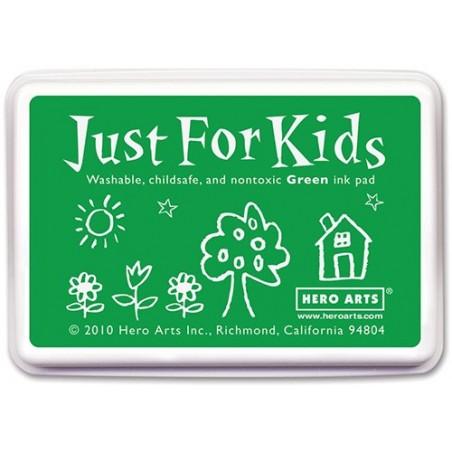 Tusz dla dzieci, Hero Arts Just For Kids Inkpad, Green
