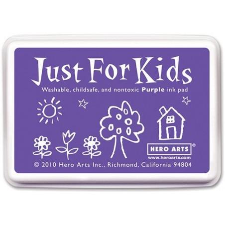 Tusz dla dzieci, Hero Arts Just For Kids Inkpad, Purple