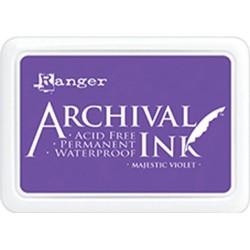 Tusz wodoodporny Archival, kolor Majestic Violet - fioletowy