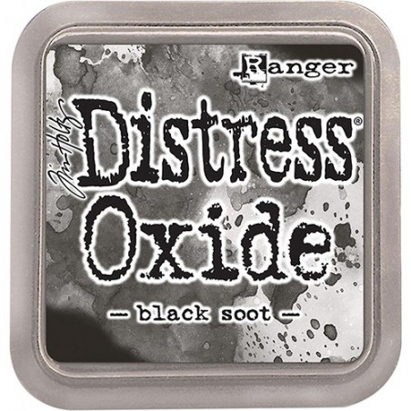 Tusz postarzający, Tim Holtz Distress Oxides Ink Pad, Black Soot