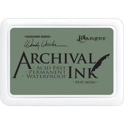 Tusz wodoodporny Archival, kolor Peat Moss - szary zielony