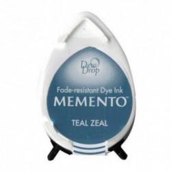 Tusz wodny Tsukineko Memento Dew Drop - Teal Zeal