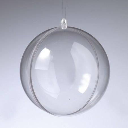 Bombka akrylowa z przekładką, kula 14 cm Efco - baza do decoupage, ozdabiania