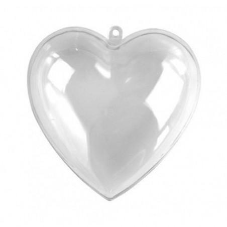 Serce akrylowe, składane, 80 mm