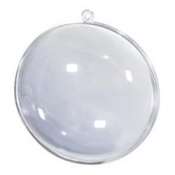 Bombka akrylowa składana - medalion 11 cm