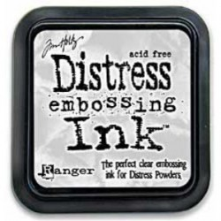 Tusz Distress Embossing Ink, Clear