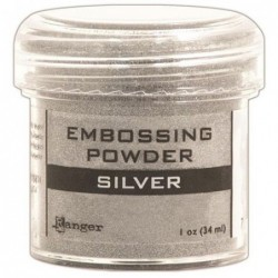 Puder do embossingu Ranger, srebrny