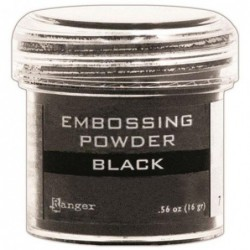 Puder do embossingu, Black
