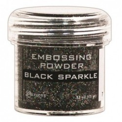 Puder do embossingu, Black...