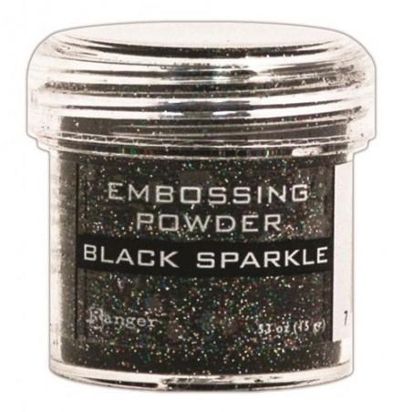 Puder do embossingu, Black Sparkle