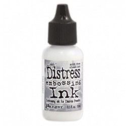 Tusz do embossingu, Distress Embossing Ink, Clear