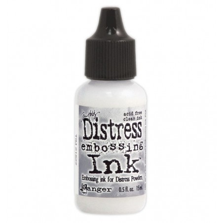 Tusz do embossingu, Distress Embossing Ink, Clear