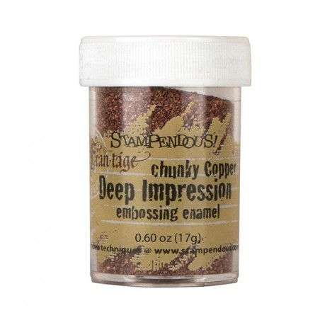 Puder do embossingu, Stampendous Frantage Deep Impression, Chunky Copper [FREG047]