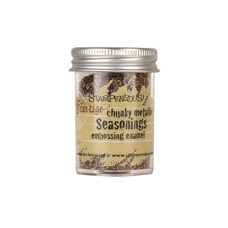 Puder do embossingu Stampendous, Seasonings