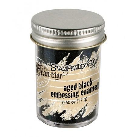 Puder do embossingu, Stampendous Frantage Aged Embossing Enamel, Black [FREG026]