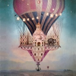Serwetka - Lot balonem