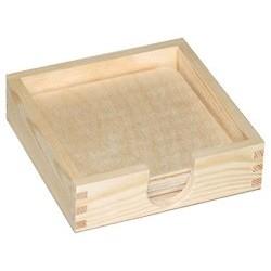Podkładki w pudełku duże