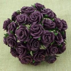 Kwiatki papierowe, Plum /...