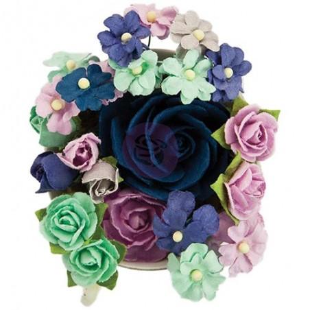 Kwiatki papierowe Prima, Prima Marketing Bouquet Mix Flowers, Bluebell [590420]