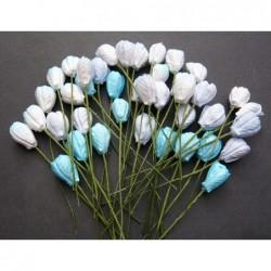 Kwiatki papierowe, Mixed...