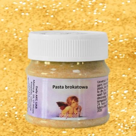 Pasta brokatowa Daily ART, głębokie złoto, 50 ml