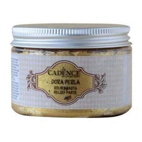 Pasta strukturalna, Dora Perla Relief Paste, Gold, 150 ml [Cadence]