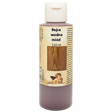 Bejca wodna do drewna Daily ART, miodowa, 120 ml