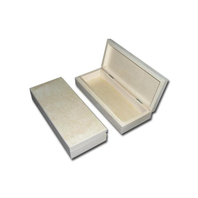 Piórnik drewniany - baza do decoupage