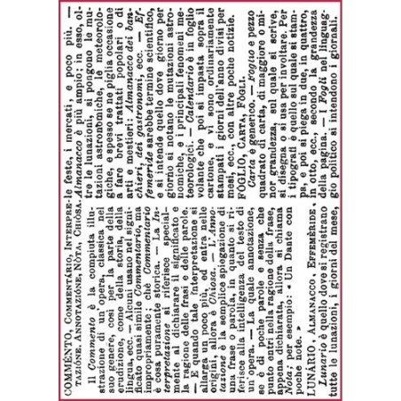 Papier ryżowy A4 [DFSA4123], Commento