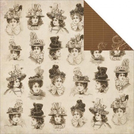 Papier do scrapbookingu, Betsy's Couture: Peplum [KC-P1741]