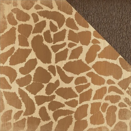Papier do scrapbookingu, Into The Wild: Giraffe [KC-P1867]