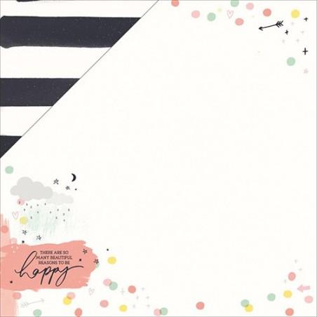 Papier do scrapbookingu, Daydreamer: Cute [KC-P2339]