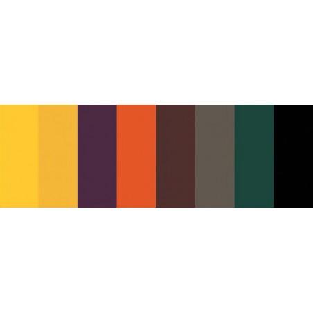 "Paski papieru do quillingu 1/8"", Fall [Q440] (8 kolorów), 80 szt."