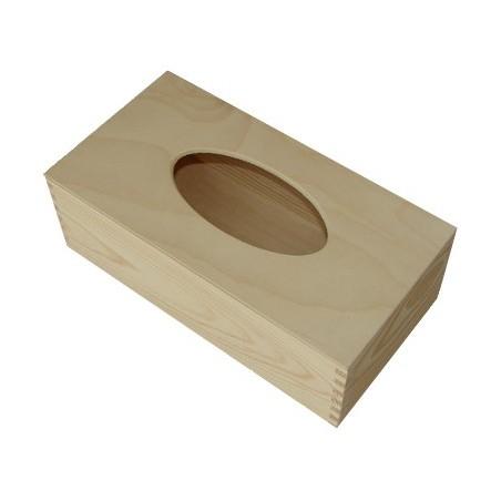 Chustecznik drewniany do decoupage