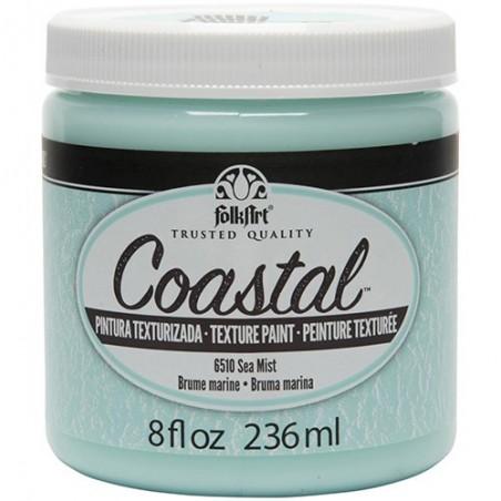 Farba akrylowa FolkArt Coastal Texture Paint, Sea Mist, 236 ml