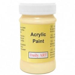 Farba akrylowa 100 ml - budyń waniliowy - doskonała do decoupage