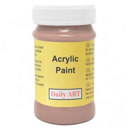 Farba akrylowa 100 ml - brązowa - doskonała do decoupage