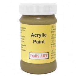 Farba akrylowa 100 ml - oliwkowa - doskonała do decoupage