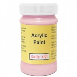 Farba akrylowa 100 ml - różowa - doskonała do decoupage