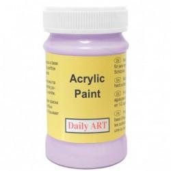 Farba akrylowa 100 ml - jasnofioletowa - doskonała do decoupage