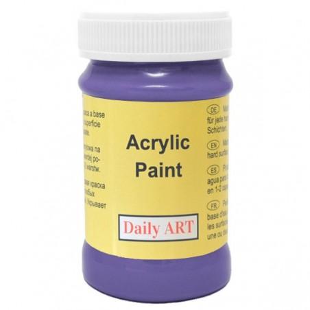 Farba akrylowa 100 ml - fioletowa - doskonała do decoupage