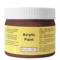 Farba akrylowa 300 ml - czekolada - doskonała do decoupage