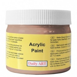 Farba akrylowa 300 ml - brązowa - doskonała do decoupage