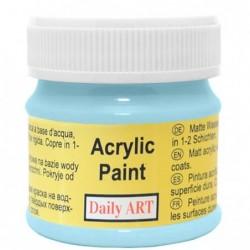 Farba akrylowa 50 ml - błękitny - doskonała do decoupage